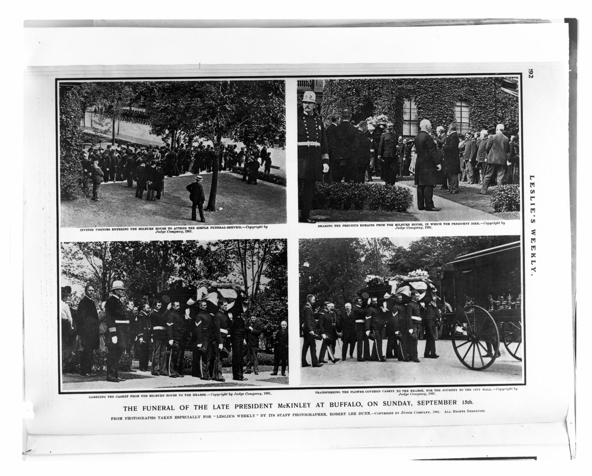Funeral of McKinley