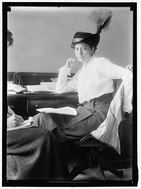 Ruth Hanna McCormick Simms, Courtesy of Library of Congress Prints & Photographs, LC-H261-3374
