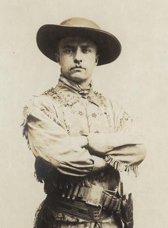 Young TR in buckskins