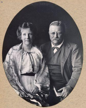 Edith and Theodore Roosevelt
