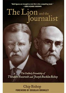 Cover of Chip Bishop's The Lion and the Journalist