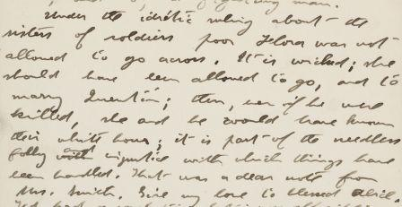 Letter from Theodore Roosevelt to Anna Roosevelt Cowles