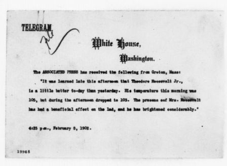 Telegram released by the Associated Press