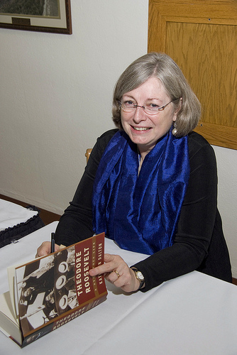Kathleen Dalton at book signing