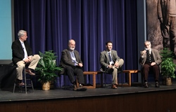 Panel discussion at DSU