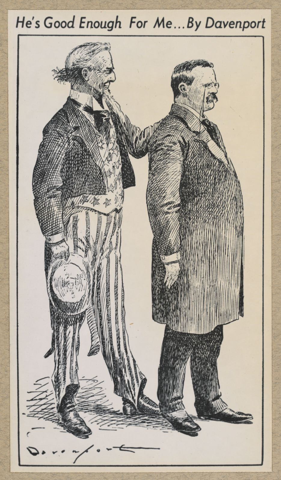 TR and Uncle Sam